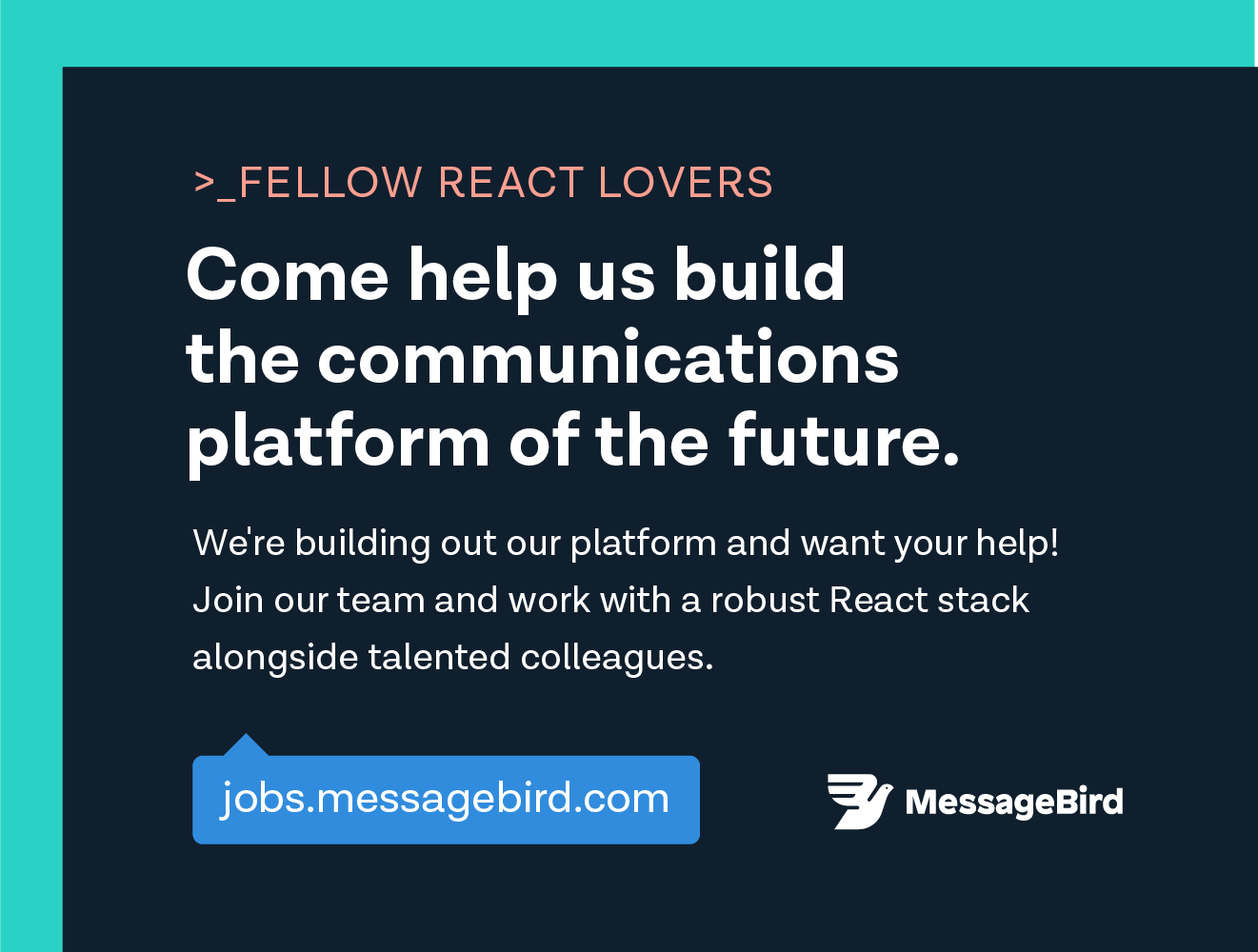 React Jobs from Most Notable React Community Supporters